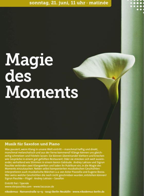 Magie des Moments